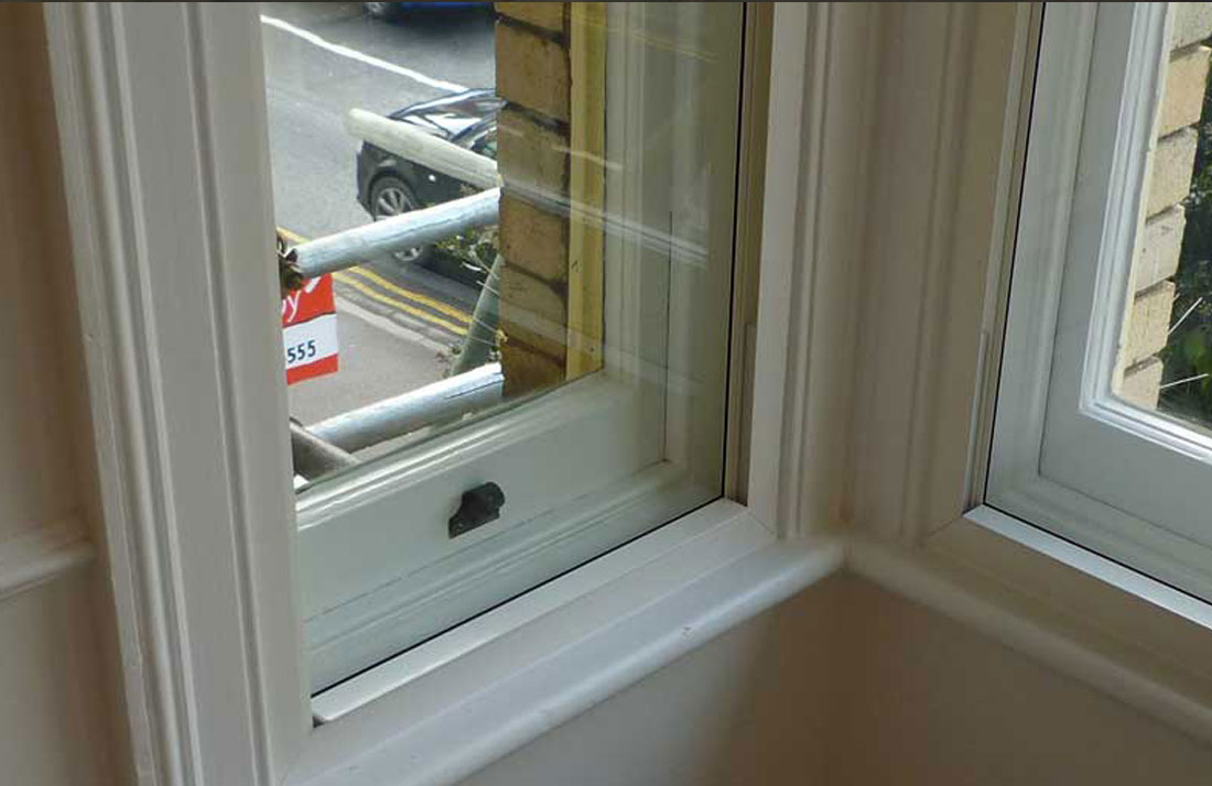 fixed secondary double glazing