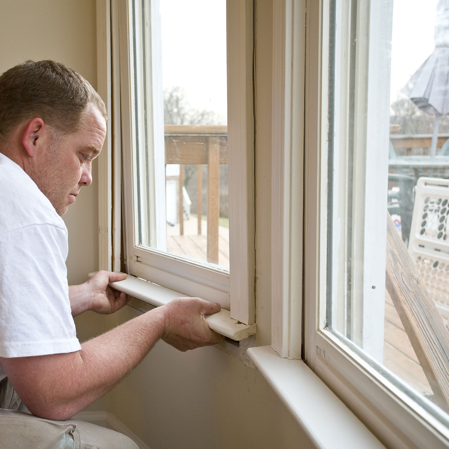 double glazing fitter